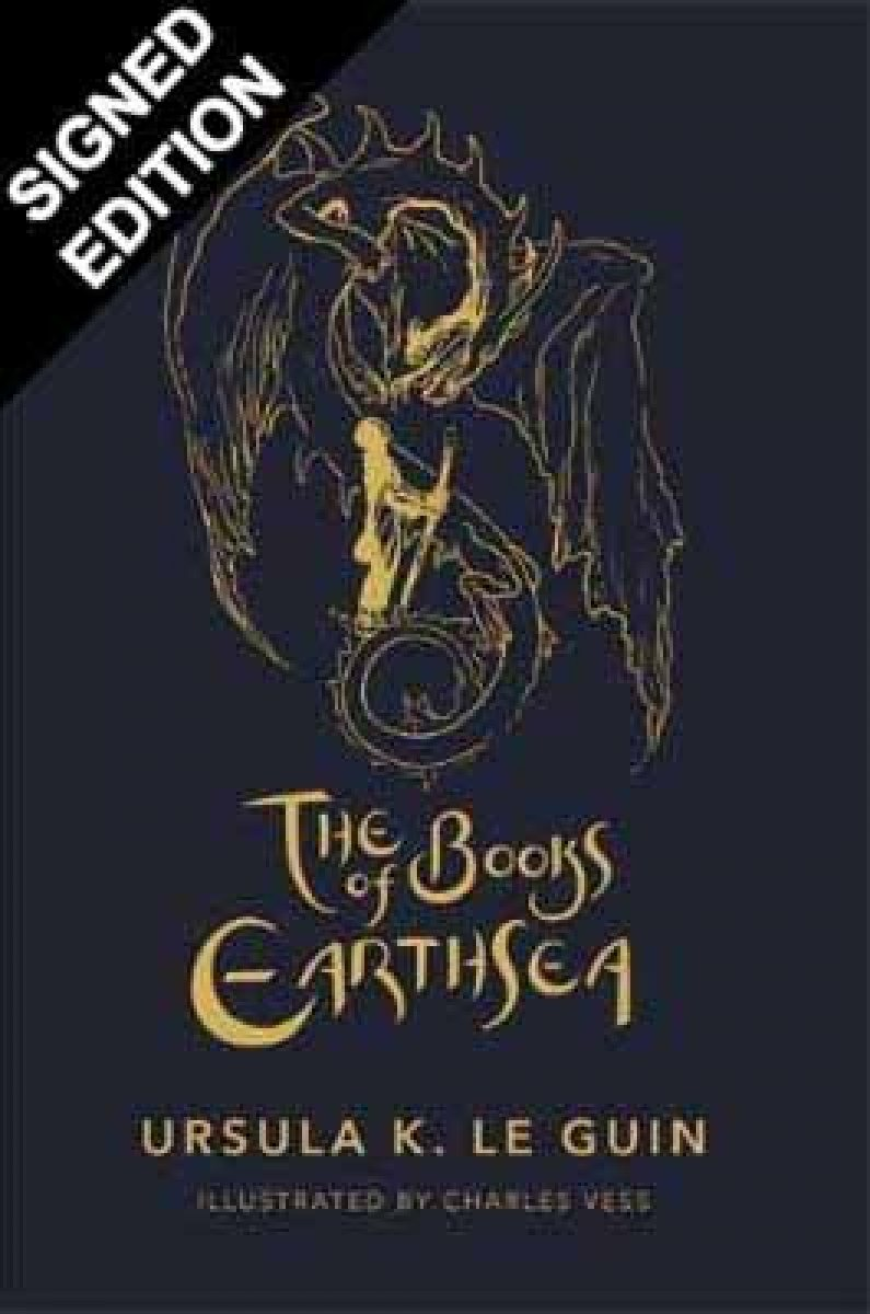 The Books of Earthsea: The Complete Illustrated Edition: Signed by the Illustrator (Hardback)