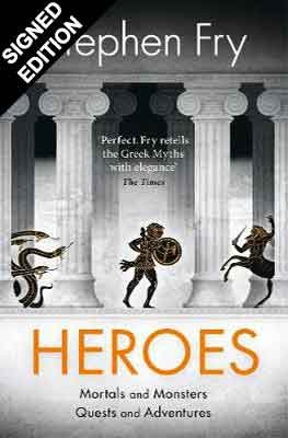 Cover of the book, Heroes: Mortals and Monsters, Quests and Adventures.