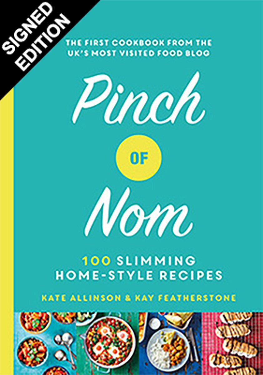 Cover of the book, Pinch of Nom: 100 Slimming, Home-style Recipes.