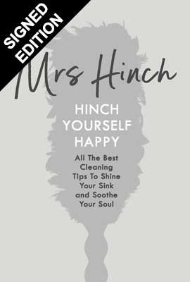 Cover of the book, Hinch Yourself Happy: All The Best Cleaning Tips To Shine Your Sink And Soothe Your Soul.