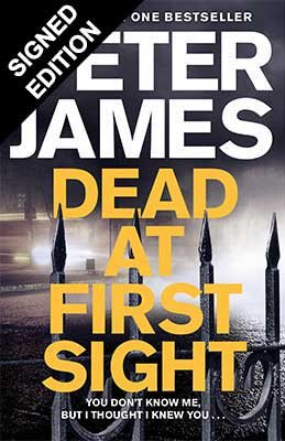 Cover of the book, Dead at First Sight.