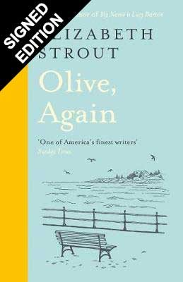 Cover of the book, Olive, Again (Olive Kitteridge, #2).