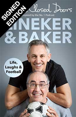 Cover of the book, Behind Closed Doors: Life, Laughs and Football.