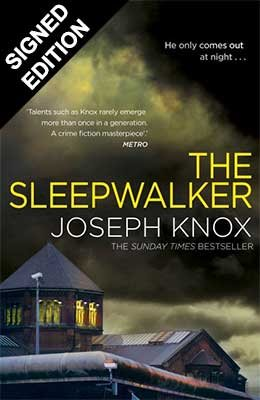 Cover of the book, The Sleepwalker.