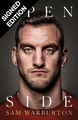 Cover of the book, Open Side: The Official Autobiography.