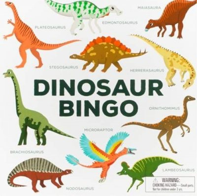 Dinosaur Bingo - Magma for Laurence King