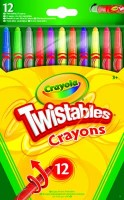12 Twistable Crayons