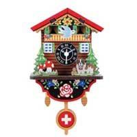 DIY Swiss House Clock