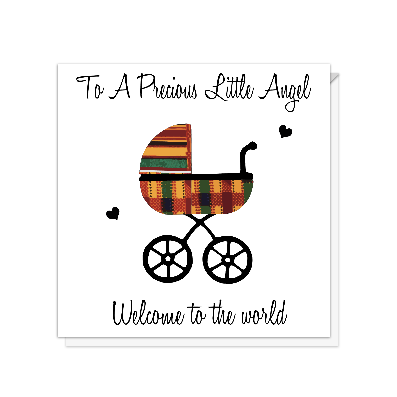Precious Angel New Baby Card