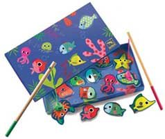 Colourful Magnetic Fishing Game