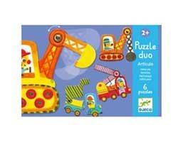 Vehicles Puzzle Duo