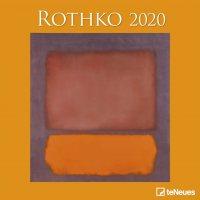 2020 Rothko Wall Calendar