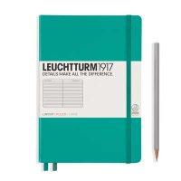 Emerald Medium Ruled Notebook
