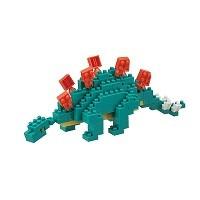 Nanoblock Stegosaurus dinosaur