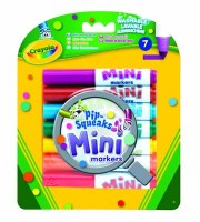 7 Mini Markers (pip Squeaks)