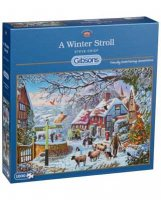 A Winter Stroll Jigsaw Puzzle 1000pc