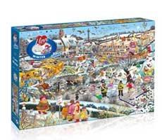 I Love Winter 1000pc Puzzle