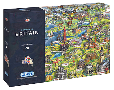 Beautiful Britain 1000pc Jigsaw