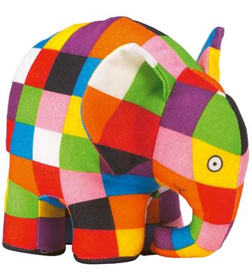 Elmer Plush Toy