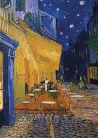 Cafe-Terrace At Night