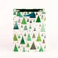 Green Trees Small Gift Bag