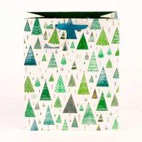 Green Trees Medium Gift Bag
