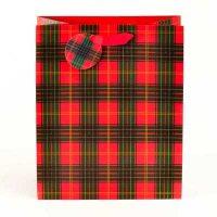 Tartan Medium Gift Bag