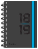 Delta Day to View Academic A5 Diary 2018-2019