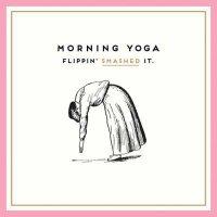 Morning Yoga Card