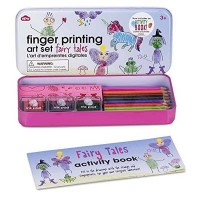 Circus Finger Printing And Booklet Set