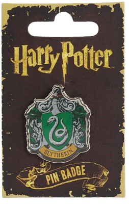 Harry Potter Enamel Badge - Slytherin