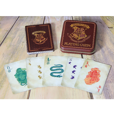 Harry Potter Playing Cards In A Tin