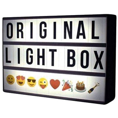 Cinematic Led Black Light Box A6