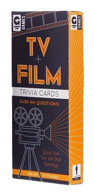 Tv & Film Trivia Cards