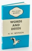 Words And Deeds Penguin Notebook