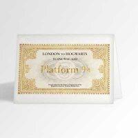 Hogwarts Express Ticket Card
