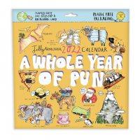 2022 Whole Year Of Pun Wall Calendar