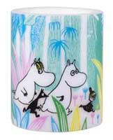 Moomins In The Jungle Candle
