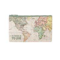 Map Pencil Case