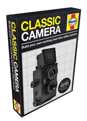 Classic Camera Press-Out and Build Craft Kit