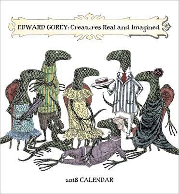 Creatures Real and Imagined Mini 2018 Calendar (Calendar)
