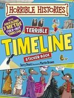 Terrible Timeline - Horrible Histories Sticker Activity Book (Paperback)
