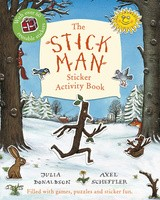 Stick Man Sticker Activity Book