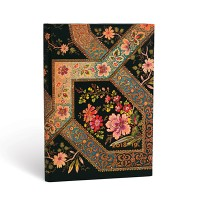 Filigree Floral Ebony Week to View Midi 2018-2019 Diary