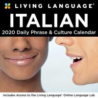 Living Language: Italian 2020 Day-to-Day Calendar