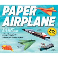 Paper Airplane Fold-a-Day 2020 Activity Calendar