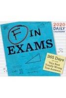 2020 F In Exams Boxed Calendar
