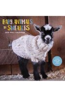 2020 Baby Animals In Sweaters Wall Calendar