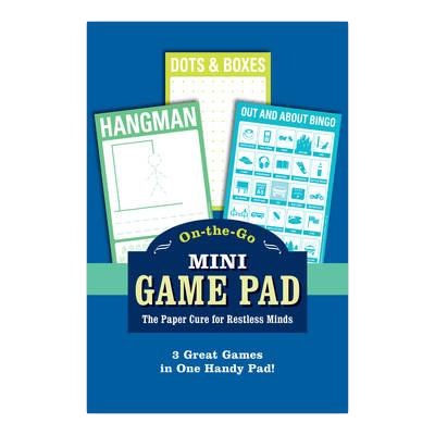Knock Knock on-the-Go Mini Game Pad: Hangman - Mini Game Pad