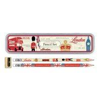 Vintage London Pencil Set